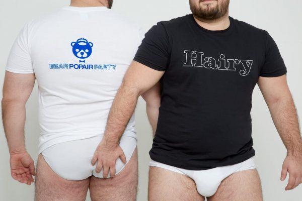 Camisetas Popair Hairy.12